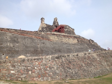 The Castillo San Felipe de Barajas- a fortress build in the 1500's to protect the city